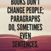 Thumbnail image for Books don't change people –  but your presentation just might