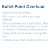 Thumbnail image for How to Use Bullet Points in Presentation Slides