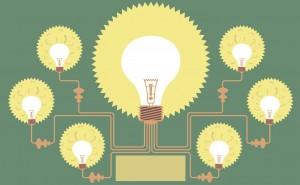 Prezi Template-lightbulbs-green