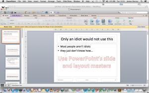 Use Slide Masters