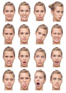 фото мимика лица